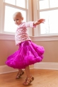 "2/27 Feeling good:  As I talked about above with the rainbow tutu…I had gotten she and Hannah these pink tutus for Christmas and I knew when she had one on, well than my girl was having a feel good ""tutu day."""